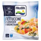 FROSTA Fettucine z łososiem i krewetkami mrożone 500g