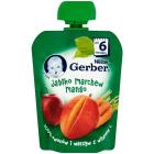 GERBER DESEREK Jabłko marchew mango (tubka) - po 6 miesiącu 90g