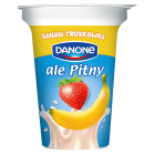 DANONE ale Pitny! Napój jogurtowy - truskawka i banan (kubek) 300g