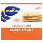 WASA Delicate Thin Crisp Pieczywo chrupkie z sezamem i solą morską 190g