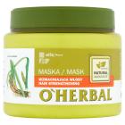 O`HERBAL Maska wzmacniająca włosy z ekstraktem z korzenia tataraku 500ml