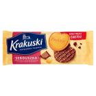 BAHLSEN Krakuski Serduszka Herbatniki z dodatkiem masła w czekoladzie mlecznej 171g