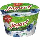 SVALYA Jogurt  z jagodami EKO 200g