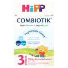 HIPP COMBIOTIK 3 Junior Mleko następne dla niemowląt - po 12 miesiącu 600g