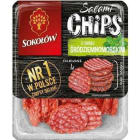 SOKOŁÓW Salami Chips Chipsy salami o smaku śródziemnomorskim 60g