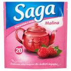 SAGA Herbata owocowa o smaku malina 20 torebek 34g