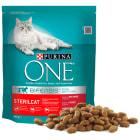 PURINA ONE Sterilcat Karma dla dorosłych kotów bogata w wołowinę i pszenicę 800g