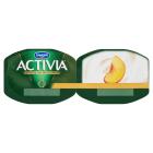 DANONE Activia Jogurt naturalny i brzoskwinie 2x120g 240g