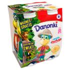 DANONE Danonki Jogurt do picia bananowy 4x100g 400g