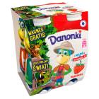 DANONE Danonki Jogurt do picia truskawkowy 4x100g 400g