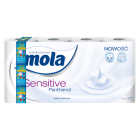 MOLA SENSITIVE Papier toaletowy Panthenol 8 rolek 1 szt