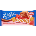 WEDEL Cookie Czekolada mleczna z nadzieniem jogurtowo-truskawkowym 290g