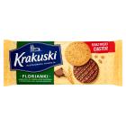 BAHLSEN Krakuski Herbatniki w czekoladzie mlecznej z  mąki pełnoziarnistej 171g