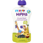 HIPP HiPPiS Gruszki-Śliwki-Czarne porzeczki Mus owocowy po 6. miesiącu BIO 100g