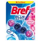 BREF Blue Aktiv Zawieszka do muszli WC Świeże Kwiaty 50g