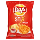 LAYS Stix Chipsy Ketchupowe 140g