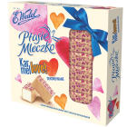 WEDEL Ptasie Mleczko® Karmelowe Dekorowane - różowe serca 380g