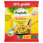 BONDUELLE Przygotowane na parze Mieszanka warzywna French mix mrożona 460g