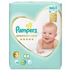 PAMPERS Premium Care Pieluchy Rozmiar 3 Midi (4-9kg) 80 szt 1szt