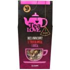 TEA LOVE Mix owocowy z truskawką i różą - piramidki 15 szt. 45g