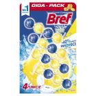 BREF Power Aktiv Zawieszka myjąco-zapachowa do WC Soczysta cytryna 4x50g 1szt