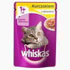 WHISKAS Karma dla kotów z kurczakiem w galaretce - saszetka 100g