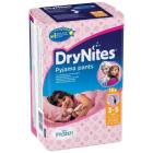 HUGGIES DryNites Pieluchomajtki dla dziewczynek 3-5 lat 10 szt. 1szt