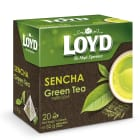 LOYD TEA Herbata zielona liściasta SENCHA (20 torebek) 32g
