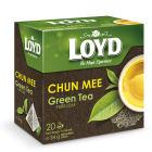 LOYD TEA Herbata zielona liściasta CHUN MEE (20 torebek) 34g