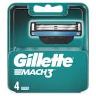 GILLETTE Mach3 Maszynka do golenia - wkład 4 szt. 1szt