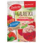 DELECTA Galaretka  truskawkowa  malinowa bez żelatyny 61g