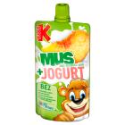 KUBUŚ Mus + Jogurt jabłko brzokwinia banan 80g