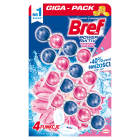 BREF Power Aktiv Zawieszka myjąco-zapachowa do WC Kwiatowa świeżość 4x50g 1szt