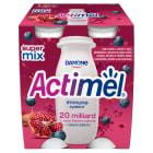 DANONE Actimel Napoj mleczny granat-jagoda-maca (4 sztuki) 400g