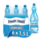 ŻYWIEC ZDRÓJ Żywioł Woda źródlana lekko gazowana 9l