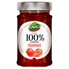 ŁOWICZ 100% z owoców Dżem Truskawka 220g