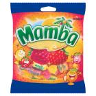 MAMBA Rozpuszczalne cukierki owocowe w 4 smakach 125g