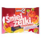 NIMM2 Śmiejżelki Owocowo-Jogurtowe Żelki owocowe wzbogacone witaminami 100g