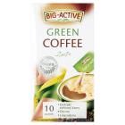 BIG-ACTIVE LA KARNITA 2w1 Green Coffee Kawa wspomagająca odchudzanie 10 sztuk 120g