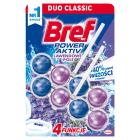 BREF Power Aktiv Zawieszka do WC - Lavender (2x50g) 1szt