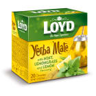 LOYD TEA Yerba Mate Herbata z miętą i trawą cytrynową 20 torebek 1szt