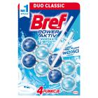 BREF Power Aktiv Zawieszka do WC - Ocean (2x50g) 1szt