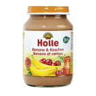 HOLLE Deserek banan z wiśnią - po 4 miesiącu BIO 190g