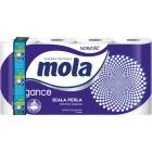 MOLA ELEGANCE Papier toaletowy Biała Perła 8 rolek 1szt