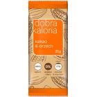 DOBRA KALORIA Baton owocowy kakao&orzech 35g