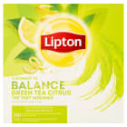 LIPTON Tea Citrus Herbata zielona (100 torebek) 130g
