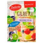 DELECTA Galaretka deserowa przezroczysta smak winogrona i agrestu 61g