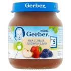 GERBER DESEREK Krem z jabłek i suszonych śliwek - Po 5 miesiącu 125g
