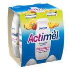 DANONE Actimel Napój mleczny wieloowocowy 4 szt. 400g
