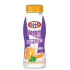 MLEKOVITA Bez laktozy Jogurt Polski Pitny pomarańcza-melisa 250g